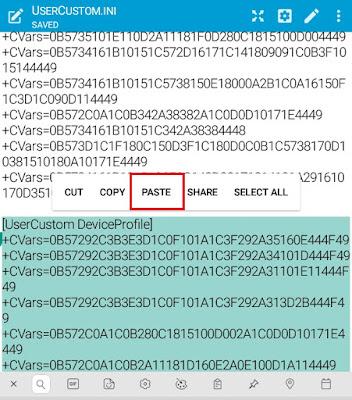 Config Anti Lag Extreme 480p PUBG Mobile