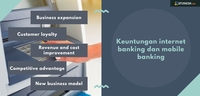 Keuntungan Internet Banking dan Mobile Banking
