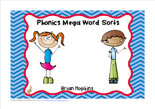 Phonics Mega Word Sorts Pack