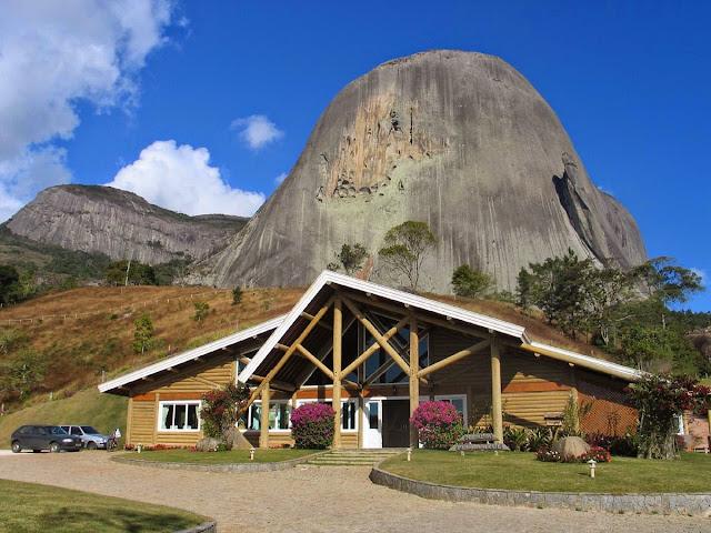 centro de visitantaes da Pedra Azul – ES