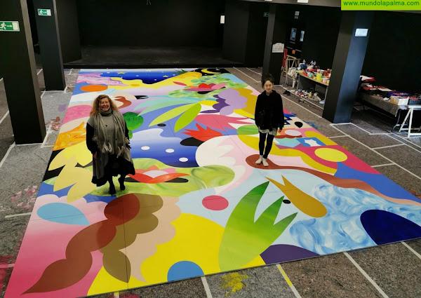 La artista japonesa Mina Hamada crea una nueva obra para el CEMFAC de Los Llanos de Aridane