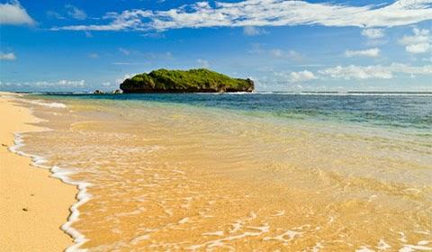 gambar dari paket wisata di jogja pantai pasir putih
