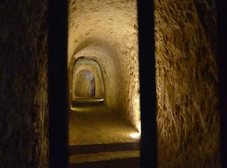 vu des souterrains de Provins