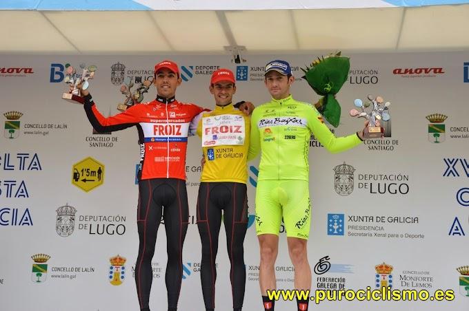 Entrevistamos a Martín Lestido ganador de la Volta a Galicia