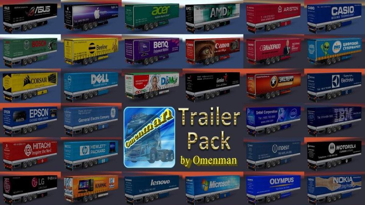Updated Electronics Trailers Pack