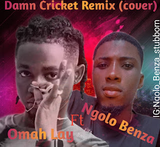 [Music] Omah Lay Ft Ngolo Benza_-_Damn Cricket Cover