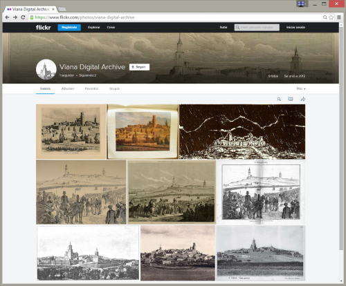 Viana Digital Archive en Flickr