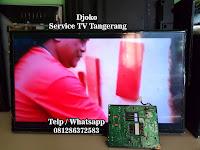 service tv golden park serpong