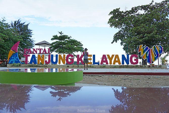 Landmark Pantai Tanjung Kelayang, Belitung