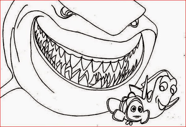 shark coloring pages coloring.filminspector.com