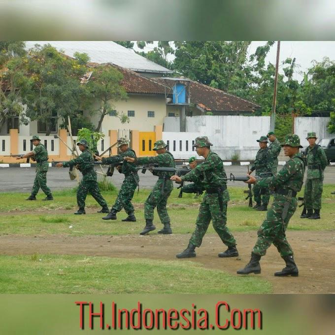Minggu Militer Jajaran Kodim 0718 Pati Meningkatkan Kwalitas Mental Dengan Baik