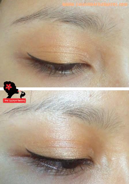 Pemakaian Produk Eyeshadow Viva