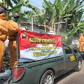 Pimpin Penyemprotan Disinfektan di Kecamatan Kroya, Ini Yang Diberikan Dandim Cilacap