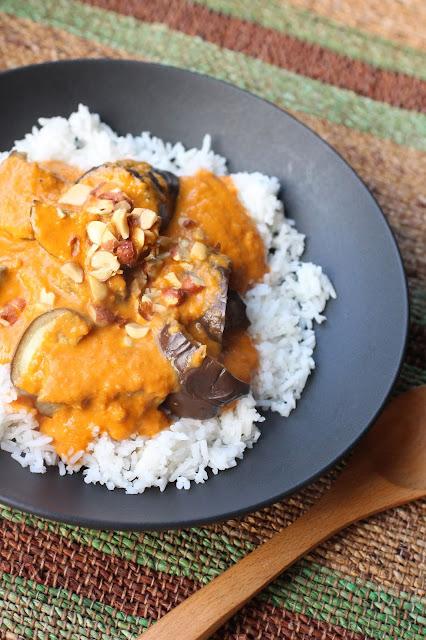aubergines sauce africaine