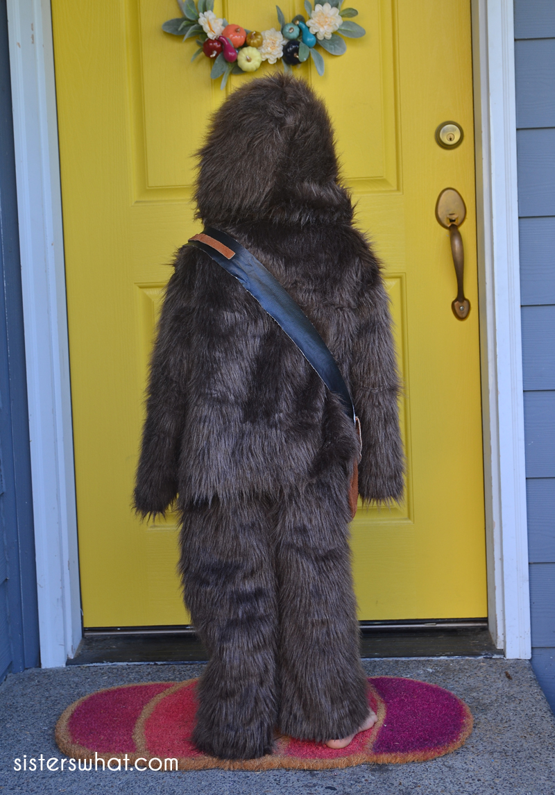 how to make a chewbacca costume for kids