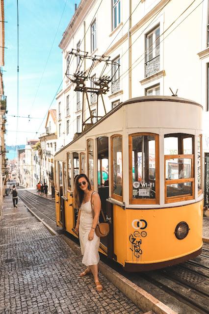 Alicia Mara at Funicular da Bica Tram | Tips and Tricks