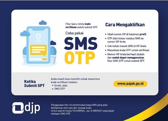 Manfaatkan Fitur OTP Untuk Kirim SPT DJP Online