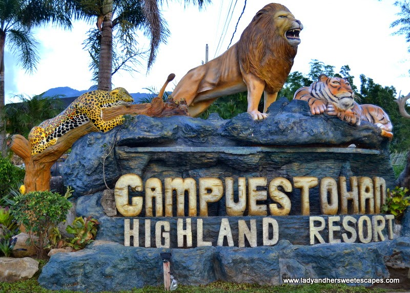 Campuestohan Highland Resort in Talisay Philippines