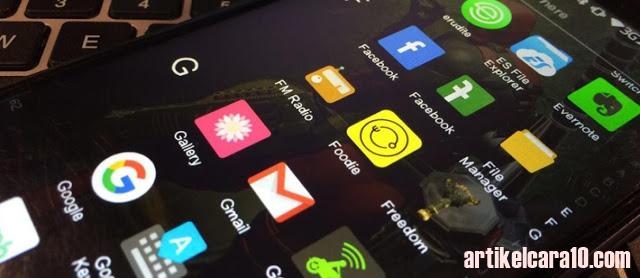 Kelola aplikasi yang terpasang di smartphone