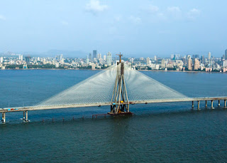 worli sea link best photo