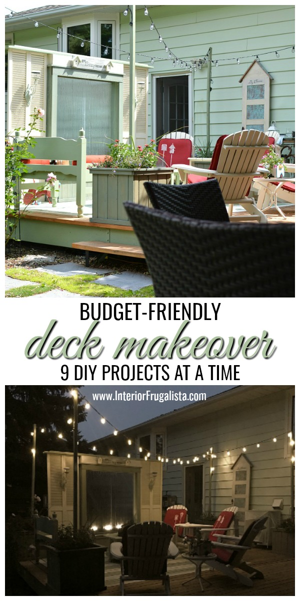 Budget Friendly Deck Makeover Reveal