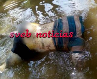 Hallan a hombre decapitado flotando en un rio en Amatitlán Veracruz