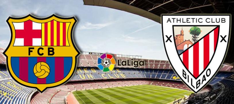 مباراة برشلونة واتلتيك بلباو  ميسي 10-02-2019 اليوم