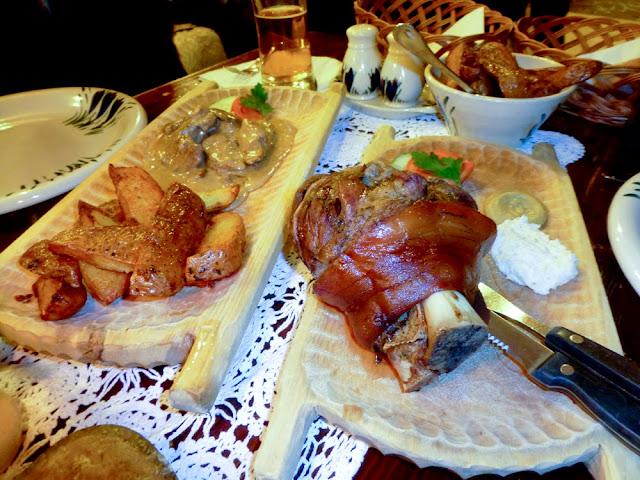 Codillo Asado, Restaurante Morskie Oko de Cracovia