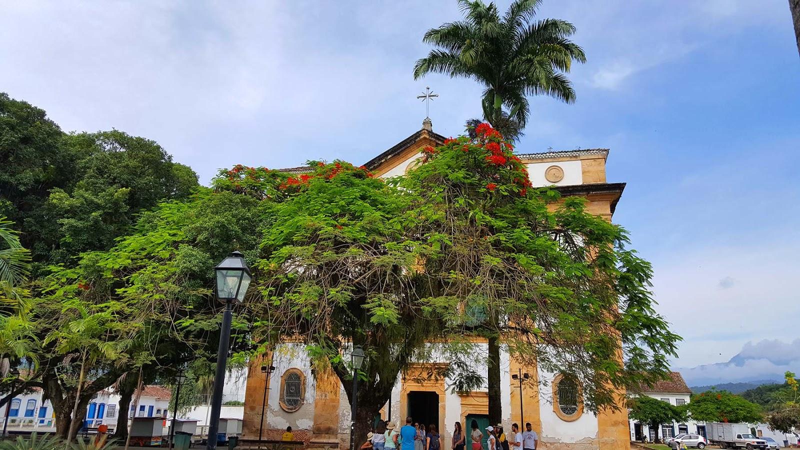 Igreja Nossa Senhora dos Remédios, Paraty.