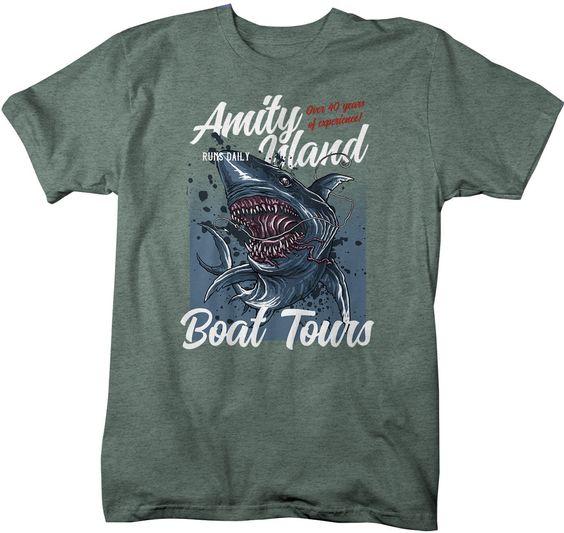 Thần dân đam mê shark t-shirt áo thun hình cá mập 15 mẫu xịn xò