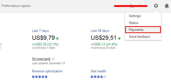 ara Mengubah Settingan Pembayaran Google AdSense Melalui Western Union
