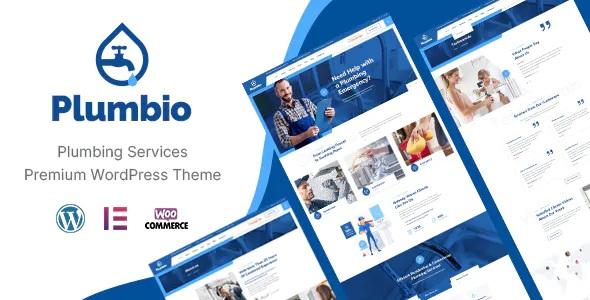 Best Plumbing Services WordPress Theme