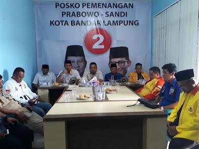 Andika Wibawa Pimpin Tim Pemenangan Prabowo-Sandi Kota Bandar Lampung