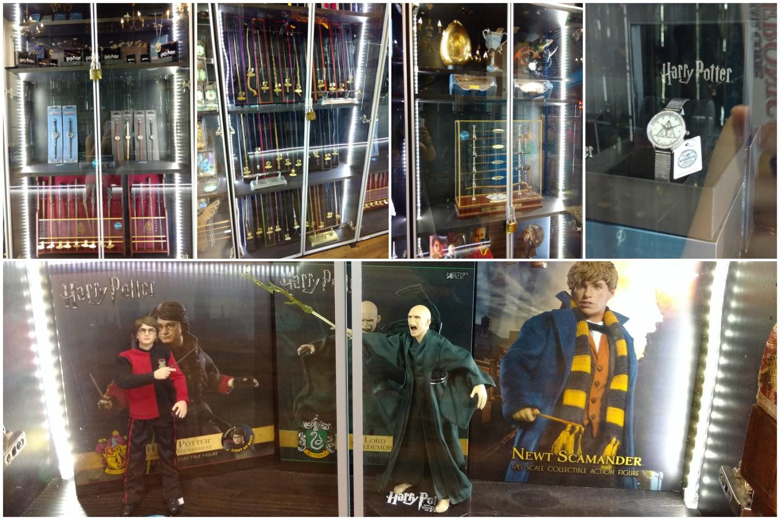 Pero algo que me ha dejado el shock es descubrir toda una línea de joyería  de Swarovski dedicada a Harry Potter ¡Una preciosidad! bf0d6a4a805