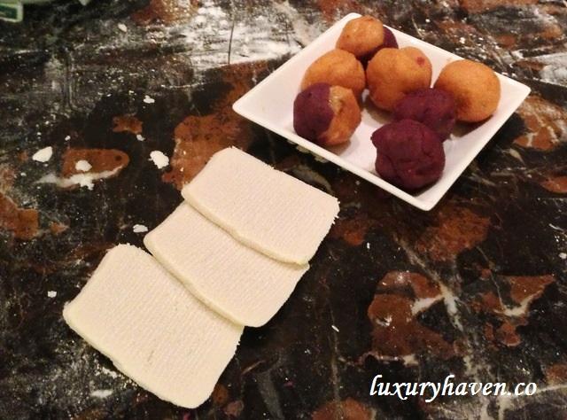 organic japanese golden purple sweet potato mooncake recipe