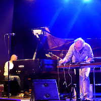 Hans-Joachim Roedelius, Wolfgang Mathes @ Porgy&Bess / photo S. Mazars