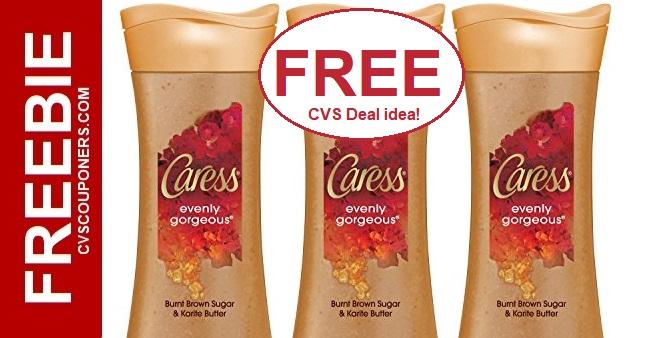FREE Caress Body Wash CVS Deal 11-10-11-16