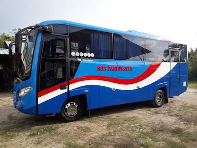 sewa bus di belitung