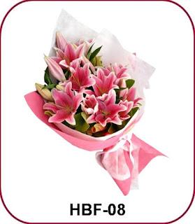 Toko Bunga Valentine di Meruya Utara