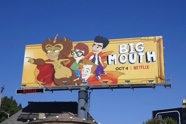 Big Mouth season 3 billboard