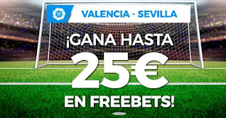 Paston promocion Valencia vs Sevilla 22-12-2020