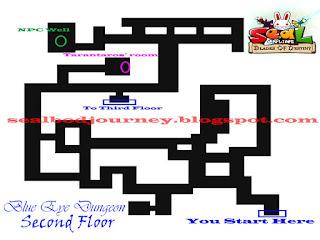 Map F2 Blue Eye Dungeon Seal Online