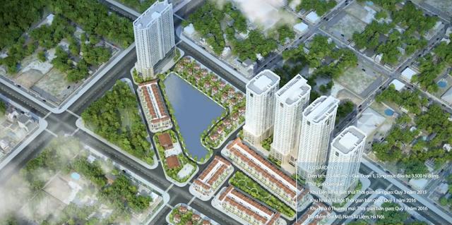 Vị trí CHUNG CƯ FLC GARDEN CITY ở trung tâm Quận Nam Từ Liêm