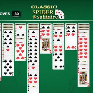 لعبة سوليتير الكوتشينة الاصلية العادية القديمة