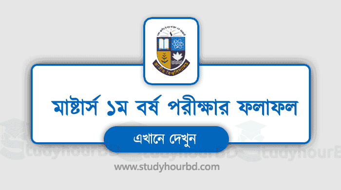 Masters 1st year result 2019