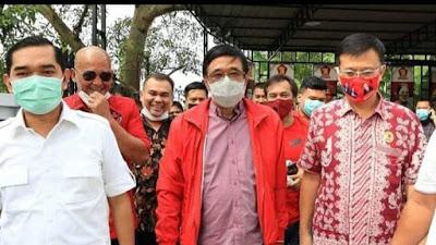 Koalisi Bobby-Aulia Makin Kuat, Djarot Silaturahmi Politik ke Gerindra Medan