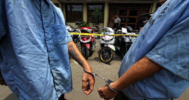 "Geng Motor ""Anak Stres"" Bekasi Ditangkap Polisi"