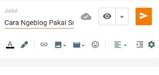 Dashboard editor blogger