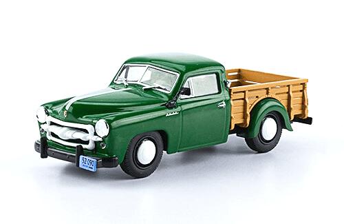 iame justicialista pick up 1952 1:43 autos inolvidables argentinos salvat