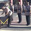 Kapolres Takalar Pimpin Upacara Serah Terima Jabatan Tiga Pejabat Polres Takalar